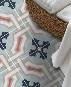 This year will be the year of the tile. No longer the reserve of the en-suite, tiles are the ultimate decor statement. Not brave enough togo bold with colour? With our luxe range of removable tile stickers you can enjoy the trends without the permanence of real tiles and makeover your home with confidence. #floor #bathroom