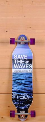 "Madrid 36"" Save the Waves Weezer Longboard"