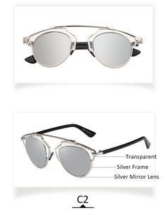 e912b8883fa New So Real Sunglasses Vintage Cat Eye Sunglass Women Original Brand  Designer Metal Frame UV400 Sun Glasses Oculos De Sol BS4040-in Sunglasses  from Women s ...