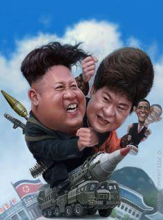 Kim Jong Woon-Park Geun-hye by orangebuddhas on DeviantArt