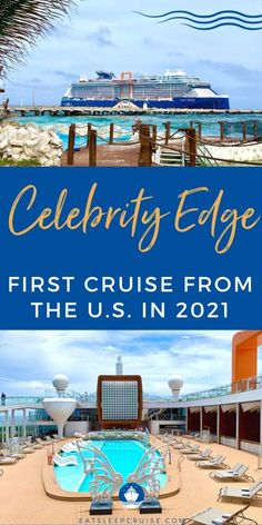 What It Is REALLY Like on the First Cruise From the U.S. - We share all the details LIVE from the first cruise from the U.S. on Celebrity Edge currently sailing for the first time in 15 months! Cruise Tips, Cruise Vacation, Alaska Cruise, Royal Caribbean, Eat Sleep, The One, First Time, Sailing, Europe