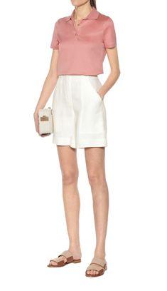 Merino Wool Sweater, Cotton Sweater, Wool Sweaters, Mode Birkenstock, Linen Shorts, Hue, Wool Blend, Short Dresses, Polo Shirt