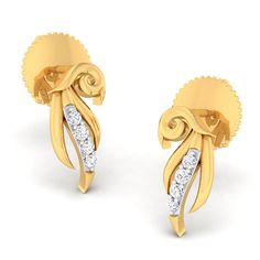 The Aatirah Diamond Stud Earings - Buy Stylish Earrings for Girls from our Latest Earrings Collection at best price with Interest Free EMIs. Buy Earrings, Girls Earrings, Diamond Studs, Diamond Earrings, Best Gifts For Mom, Miller Sandal, Tory Burch, Stylish, Diamonds