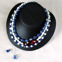 Red White And Blue Jewelry | Blue_White_and_Red_Team_Jewelry_Necklace_600.JPG