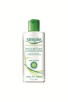 The Best Drugstore Micellar Waters You Can Buy Right Now Best Face Wash, Unclog Pores, Micellar Water, How To Apply Foundation, Sensitive Skin Care, Moisturizer With Spf, Best Face Products, Beauty Products, Facial Cleanser