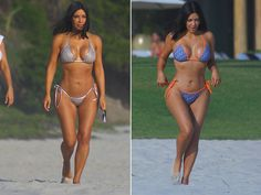 Kim Kardashian Looks Great, But Paparazzi Stayed Clear of Butt Shots (PHOTO GALLERY)