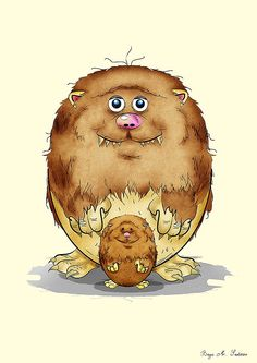 """Potato Monsters"" by Bayu Sadewo"