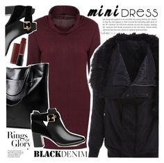 """""""Sweater Dress"""" by vanjazivadinovic ❤ liked on Polyvore featuring Ted Baker, Tiffany & Co., polyvoreeditorial and twinkledeals"""
