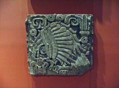 Toltec Reliefs: Eagle Mexico; Toltec, 9th-12th century