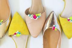 DIY Gemstone Shoe Clip Turtorial