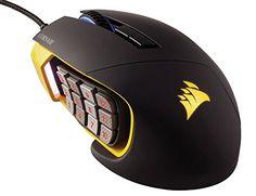 Corsair Gaming SCIMITAR RGB MOBA/MMO Gaming Mouse, Key Sl... ($80)