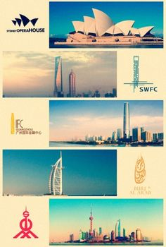 Designspiration — Landmark building logos from around the world | CreativeRoots - Art and design inspiration from around the world