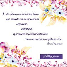 Cita de María Montessori