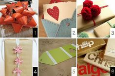 The How-To Gal's Handmade Christmas Gift Guide- DIY Gift Wrapping