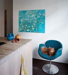 SHOP | IXXI wanddecoratie Amandelbloesem van Gogh - Vesta Accessoires
