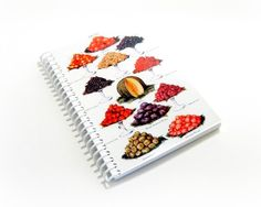 Spiral Notebook Fruits 4 x 6 by Ciaffi on Etsy, $10.00