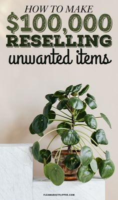 How To Make $100.000.00 Reselling Unwanted Items | Flipping Side Hustle - Are you looking for the perfect side hustle to make extra money from home in order to pay off debt? Click to learn how flipping and reselling furniture and unwanted items for profit, is an ideal way to create an extra income for your family. | Flea Market Flipper | Profitable Business Ideas | Ways To Make Money | Make Money Fast | Make Money Online | Income Streams #flipping #thrifting #reseller #ebay #onlinejobs…