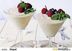 Bílá pěna (mousse) recept - TopRecepty.cz