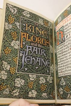 The tale of King Florus and the Fair Jehane / [Translated by William Morris from the French of the 13th century.]  Hammersmith : Kelmscott Press, 1893.