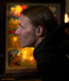 Pinball Artist Wade Krause at CAX 2012