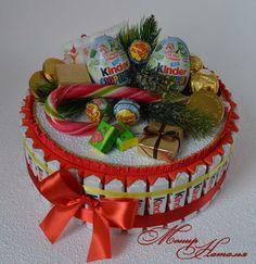 Gallery.ru / Фото #134 - Тортики из конфет - monier