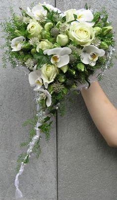 Heart bridal bouquet | Blumen Link Fulda Floristik