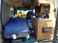 Ford Transit Connect camper conversion.... - alaskandave | SmugMug