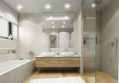 Výsledek obrázku pro betonová stěrka v koupelně s rohovou vanou