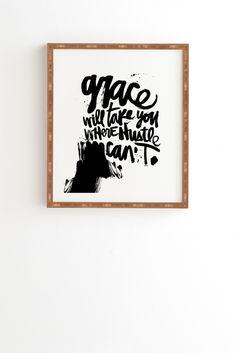 Kal Barteski Grace Framed Wall Art | DENY Designs Home Accessories