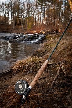 Looks like my fly fishing rod and reel. I'm so itching to get out fishing, getting cabin fever.
