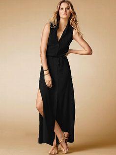 Sleeveless Maxi Shirtdress #VictoriasSecret http://www.victoriassecret.com/clothing/maxi-dress/sleeveless-maxi-shirtdress?ProductID=95066=OLS_mmc=CJ-_-2975314-_-10537608-_-Product%20Catalog%20(48%20hour%20updates)?cm_mmc=pinterest-_-product-_-x-_-x