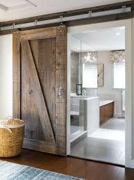 Bathrooms Design:Elegant How To Make Interior Sliding Barn Doors Home Designing With Door For Bathroom Attachment Id Diy Hardware Stainless Steel Style House Track Bypass Lock Rustic Farm barn door for bathroom - March 09 2019 at Interior Sliding Barn Doors, Sliding Barn Door Hardware, Door Hinges, Sliding Doors, Door Latches, Window Hardware, Modern Farmhouse Bathroom, Rustic Bathrooms, Farmhouse Design