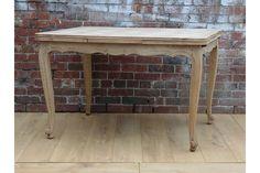 Bleached Oak Drawleaf Table | Vinterior London  #french #antique #vintage #diningroom #home