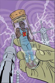 X-Statix # 19 by Mike Allred Mike Allred, Comic Art Community, Comic Books Art, X Men, Marvel Comics, Pop Culture, Cool Art, Fantasy, Superhero