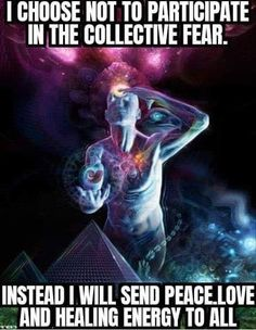 Meet collective fear with love Awakening Quotes, Spiritual Awakening, Spiritual Health, Spiritual Quotes, How High Are You, Self Healing, Spiritual Inspiration, Love And Light, Positive Affirmations