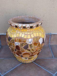 Mosaic Pot | Flickr - Photo Sharing!