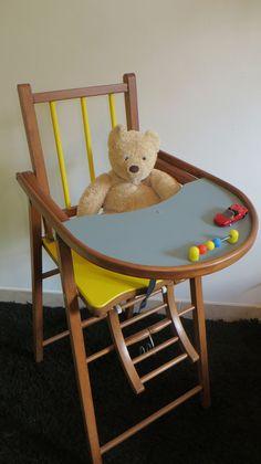 chaise haute b b vintage mes petits meubles vintage pinterest vintage et b b. Black Bedroom Furniture Sets. Home Design Ideas