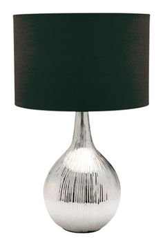 Lights and Lamps - Black table lamp