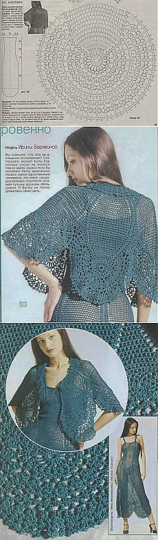 Modelo hermoso crochet - Foro encantadora y hermosa