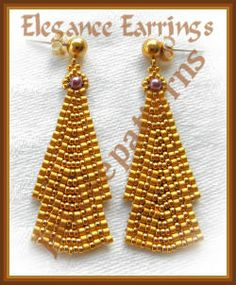 Elegance earrings by jaycee patterns: look at page 2 of fancy patterns