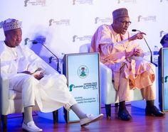 See as President Buhari and Gov. Aminu Bello is rocking socks ~ Naija365 News