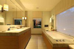 Bathroom Lighting Design by John Cullen Lighting Cosy Bathroom, Best Bathroom Tiles, Contemporary Bathroom Lighting, Bathroom Lighting Design, Bathroom Tile Designs, Rustic Bathroom Decor, Bathroom Layout, Dream Bathrooms, Amazing Bathrooms