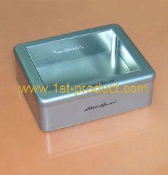 tin case with window