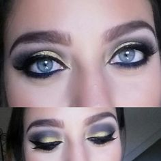 Blues eyes and gold