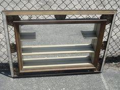 Retro Mirrored Wall Shadowbox Display Shelf Los by housecandyla, $125.00