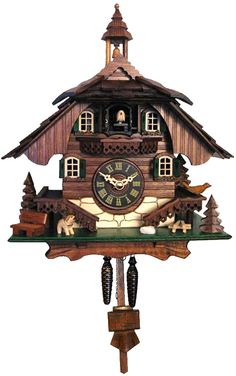 444QM - Engstler Battery-operated Cuckoo Clock - Full Size - - 10.5''H x 9''W x 6.5''D >>> Want additional info? Click on the image. (This is an affiliate link) #SimpleHomeDecor