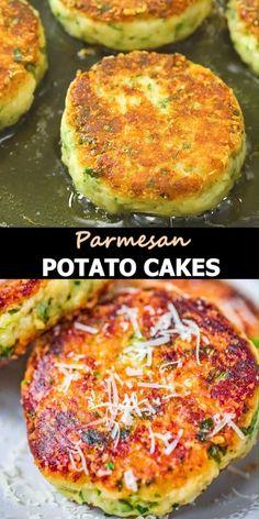 Cheap Vegetarian Meals, Vegetarian Recipes, Cooking Recipes, Vegetarian Lunch, Vegetarian Sandwiches, Going Vegetarian, Parmesan Mashed Potatoes, Mashed Potato Cakes, Vegetable Dishes