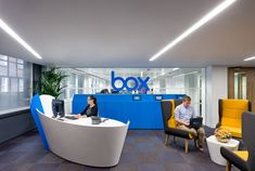 Inside Box's London Offices - Office Snapshots