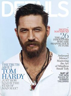 #TomHardy covers #DETAILS magazine May 2015 issue photographed by #GreggWilliams