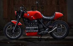 "Vladimir Tetyukhin op Instagram: ""Второй проект от Z17 Customs на базе BMW K100 #caferacer #caferacerclub #bmw #bmwk100 #k100 #moto #motorcycle #caferacerxxx #moto #bwmmotorrad #madeinrussia #caferacegram"""